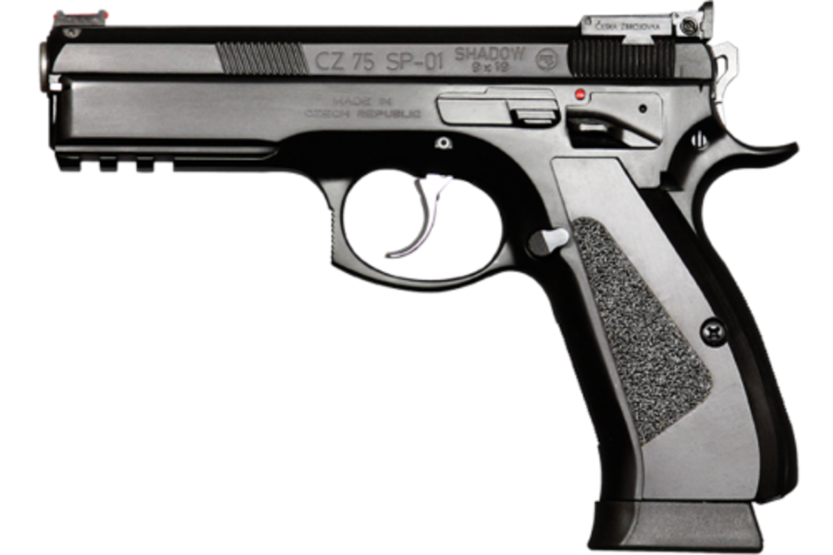 The CZ 75 SP-01 Shadow Pistol