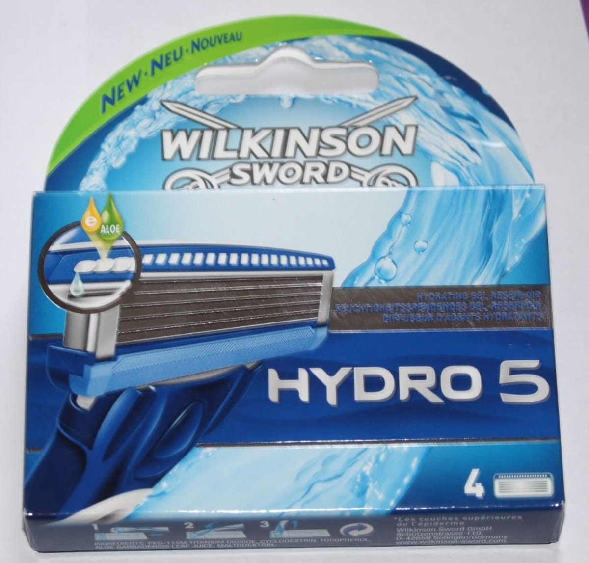 the Hydro 5 Blades