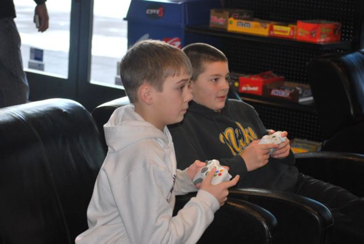 It's all about the games for 13-year-old boys