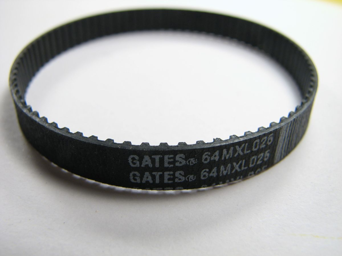 Timing belt.  If you change it yourself, buy exactly the right size belt for your make and model.