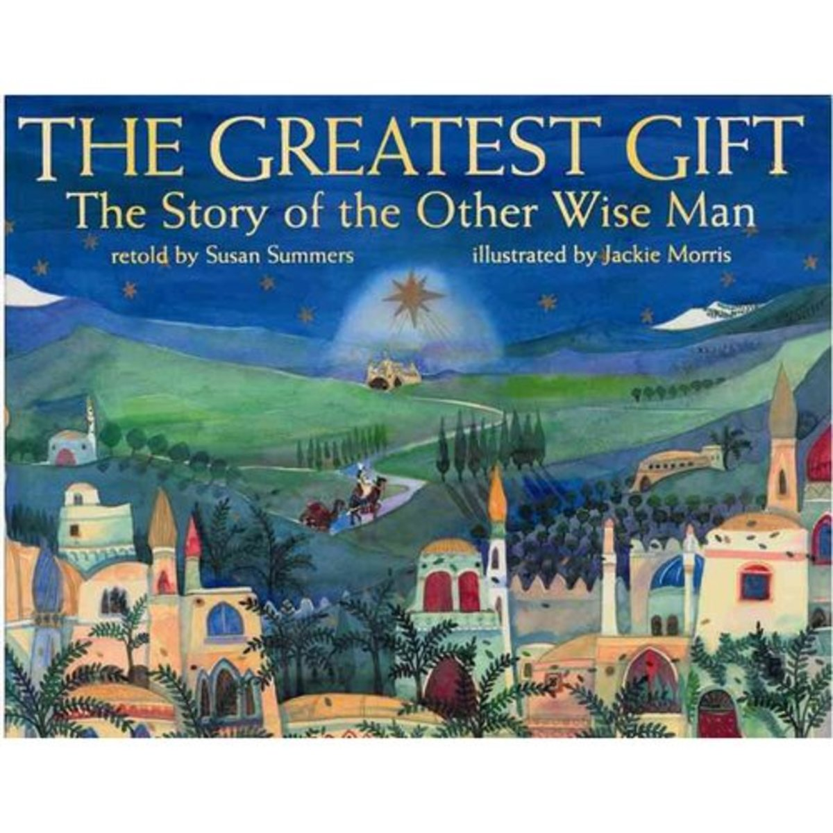 The Greatest Gift: The Story of the Otherwise Man was originally published under the title The Fourth Wise Man. This artistically rendered picture book is an adaptation of the well known book, the Story of the Other Wise Man by Henry Van Dyke.
