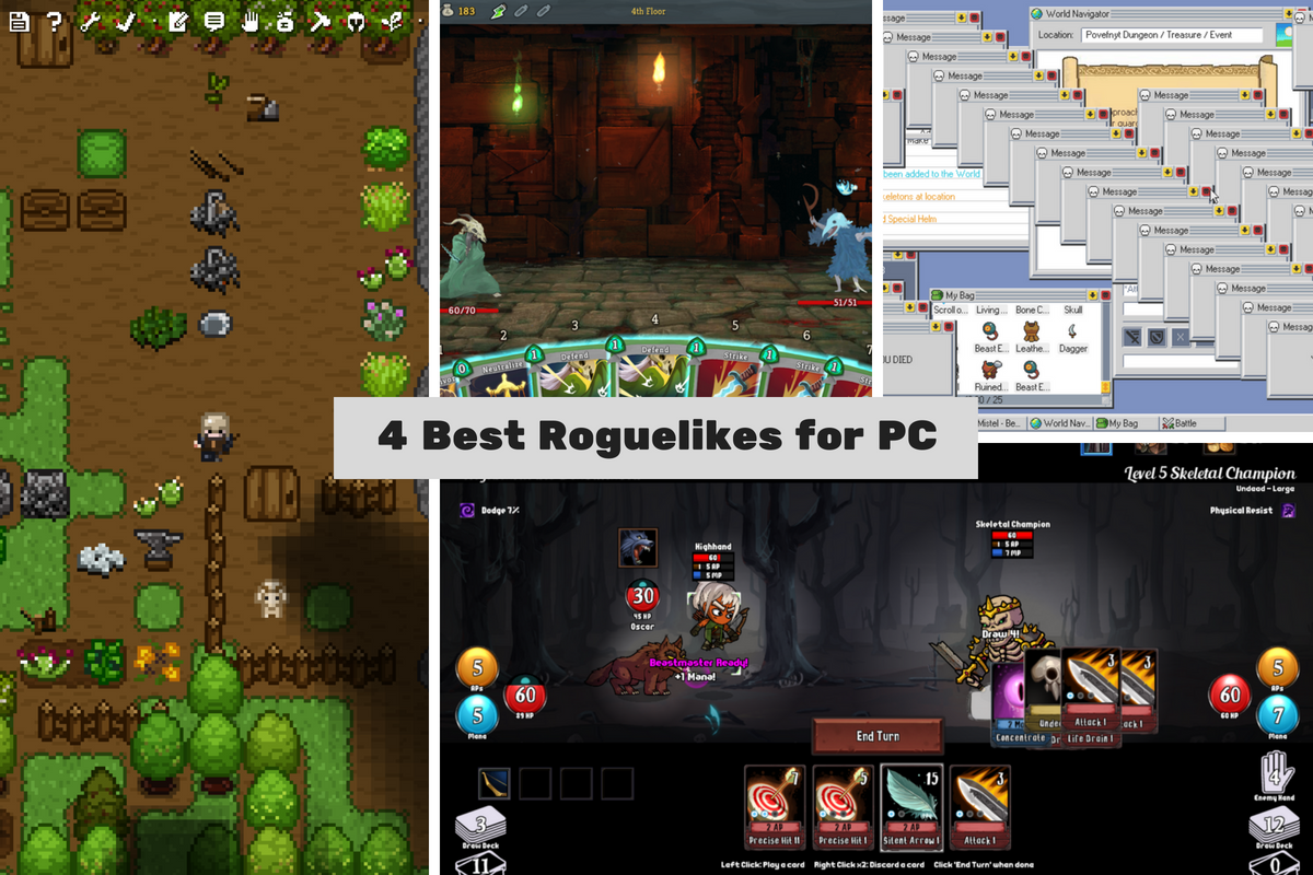 4 Best Roguelikes Games for PC