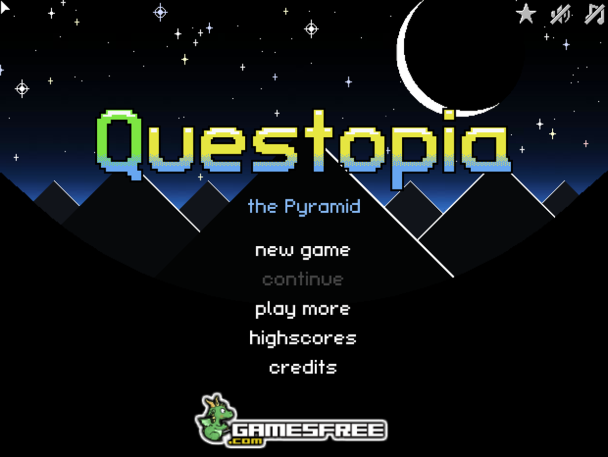 Questopia Walkthrough