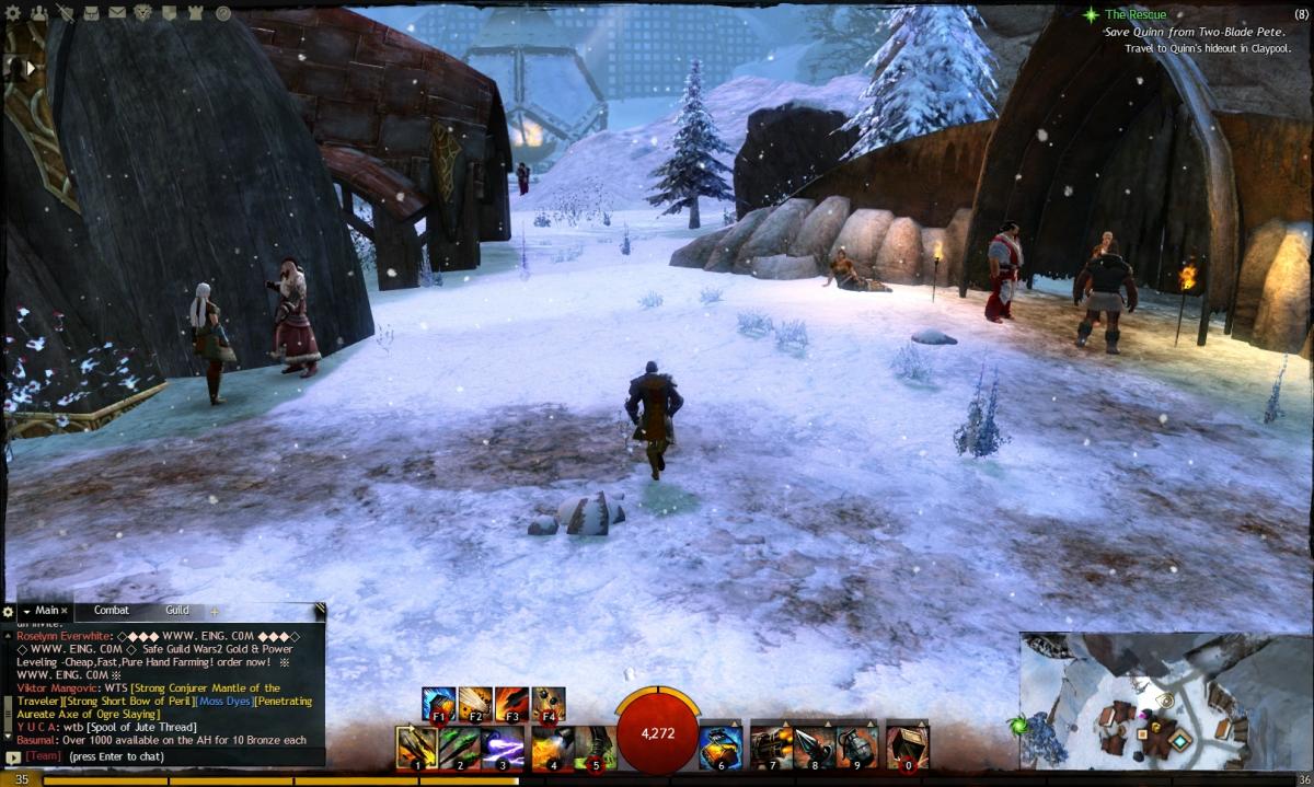 """Guild Wars 2"" Vista Location Guide: Hoelbrak"