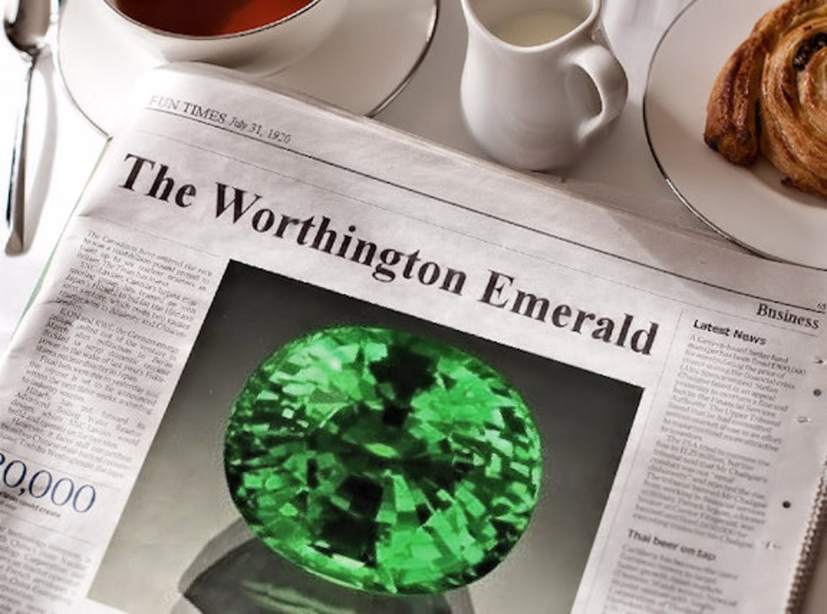 There is a new shroud of Death connected to the Worthington Emerald!
