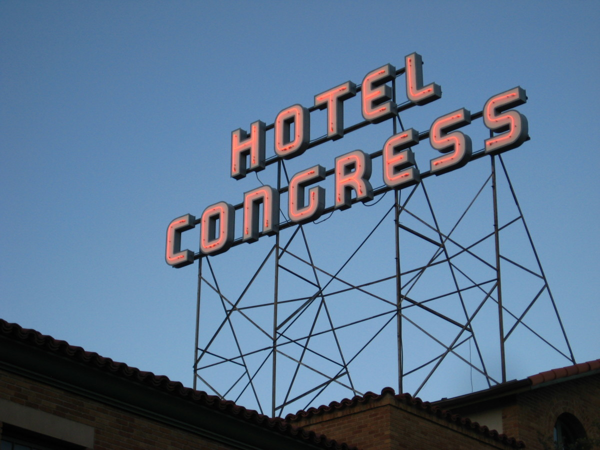 Hotel Congress, downtown Tucson