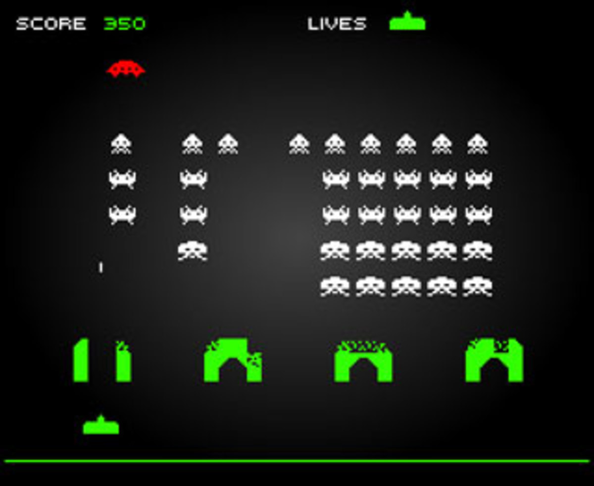 Those pesky Space Invaders...