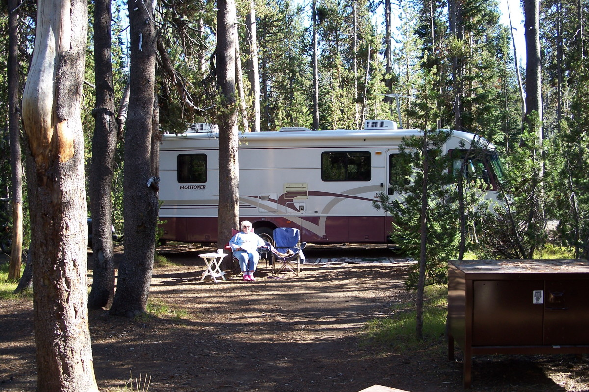Camping at Crater Lake National Park is a bargain!