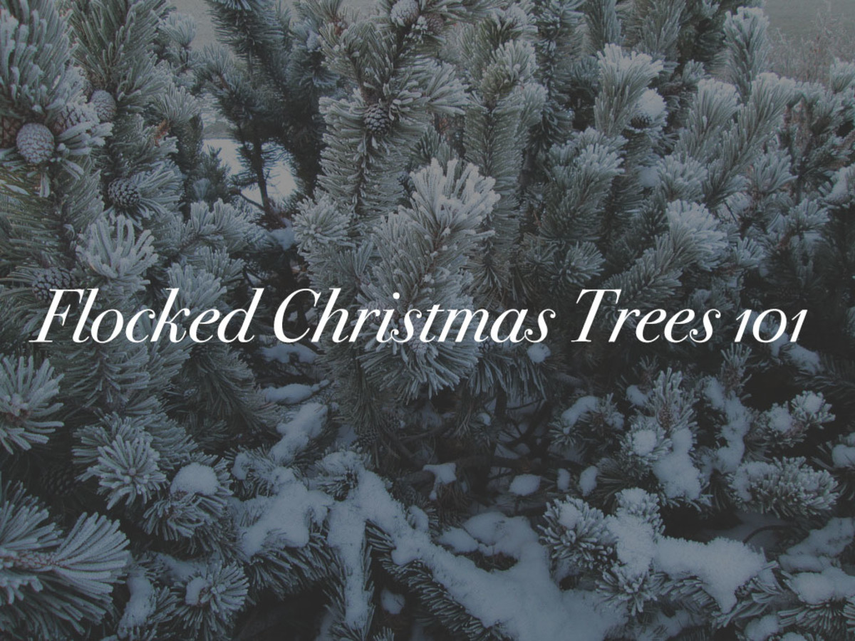 flocked-christmas-trees