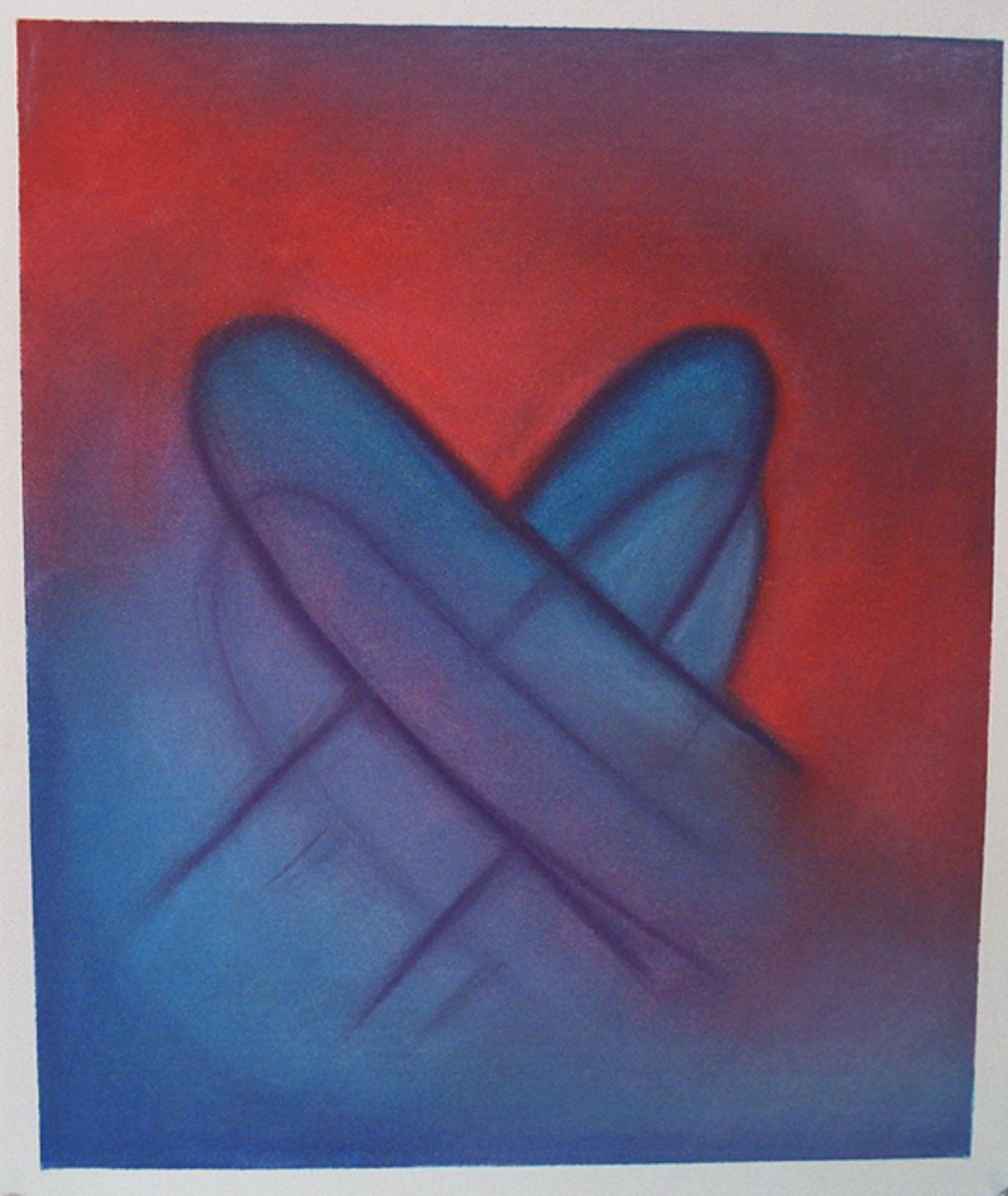 Art of signed love.