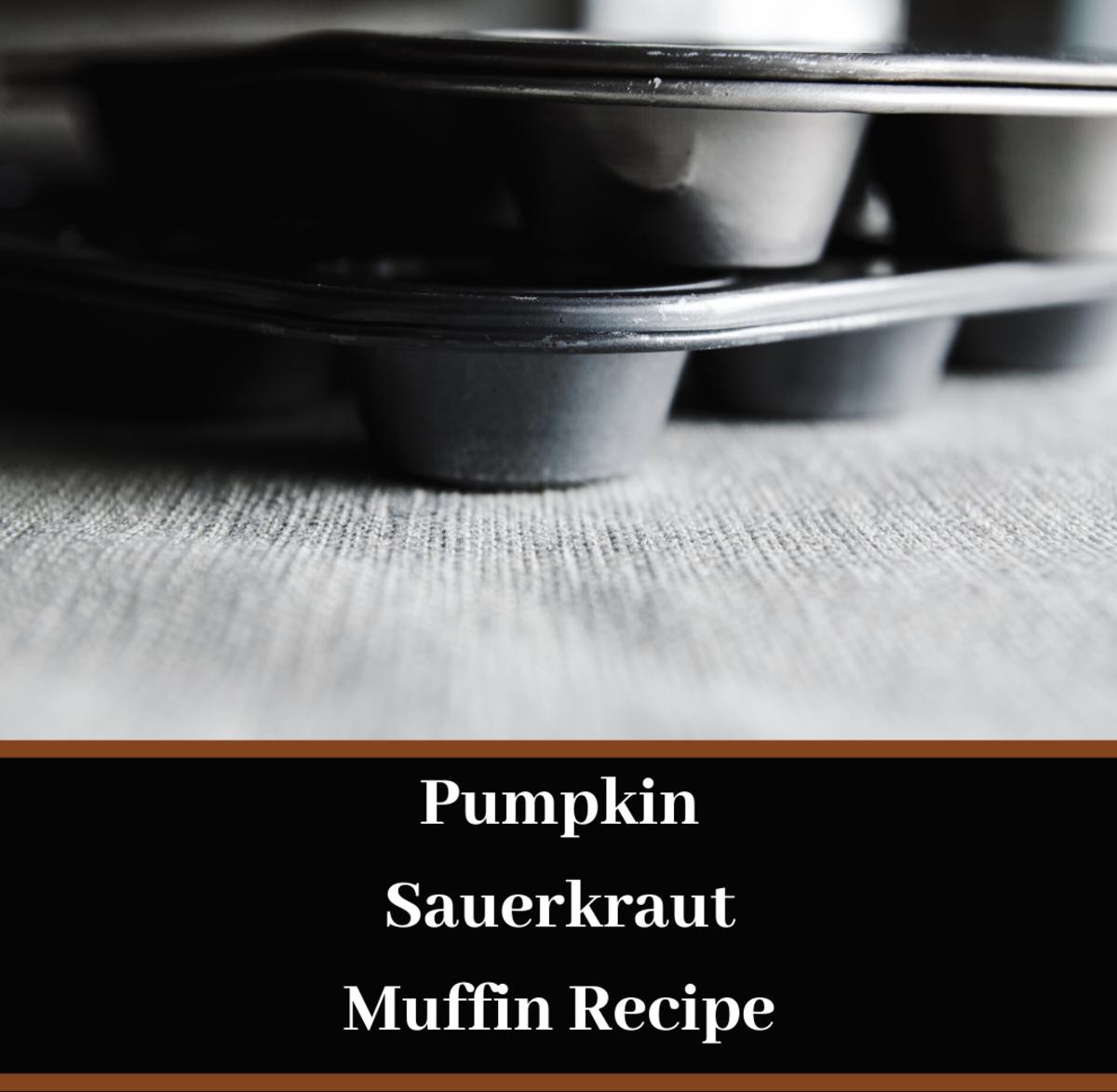Your whole family will love this pumpkin sauerkraut muffin recipe.