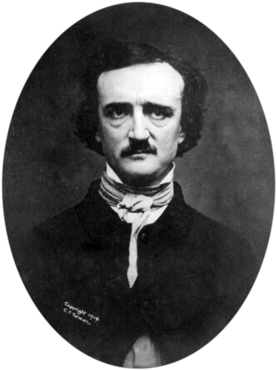 "1848 ""Ultima Thule"" daguerreotype of Poe"