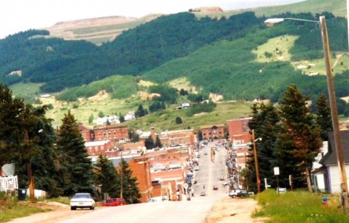 Pictures of Cripple Creek, Colorado ~ Historic Old Gold Mining Town