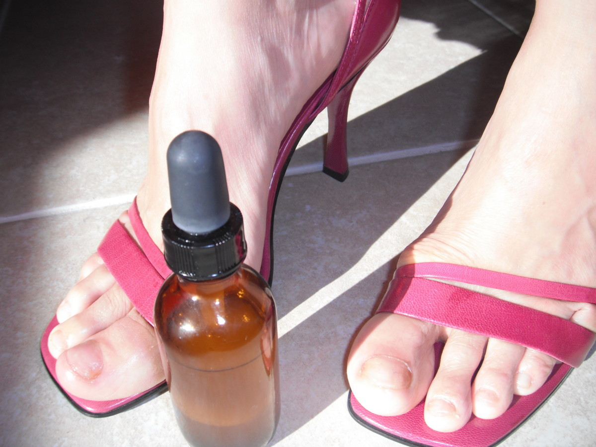 Get Rid of Toenail Fungus Naturally