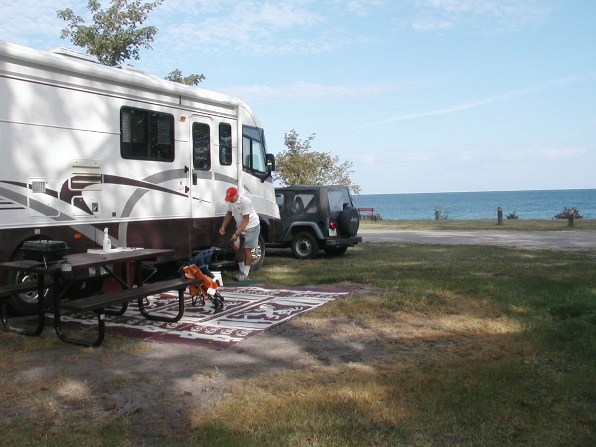 The RVing Life:  Leave Stress Behind