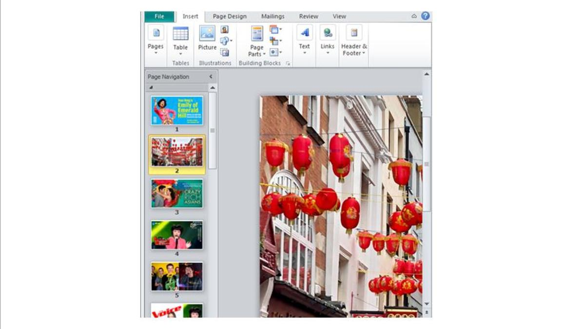 Using Microsoft (MS) Publisher in Graphic Design and Crafting