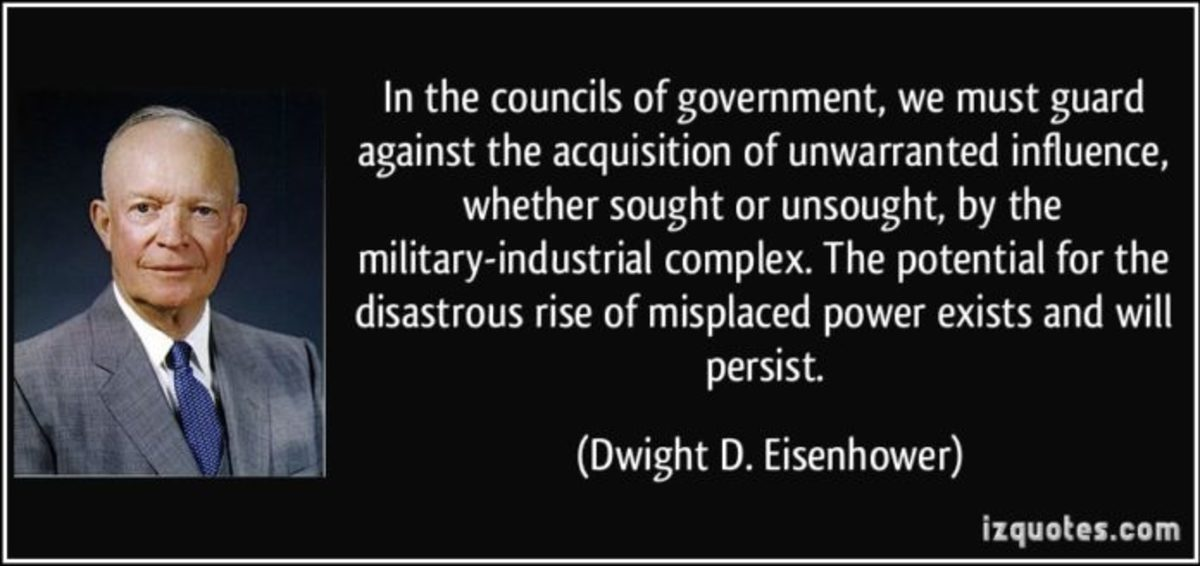 Dwight D. Eisenhower about the Military-Industrial Complex