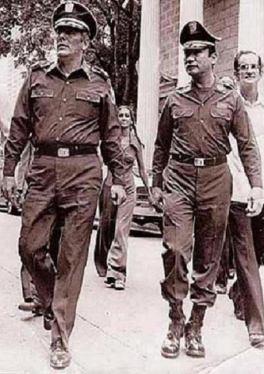 General Torrijos and Noriega