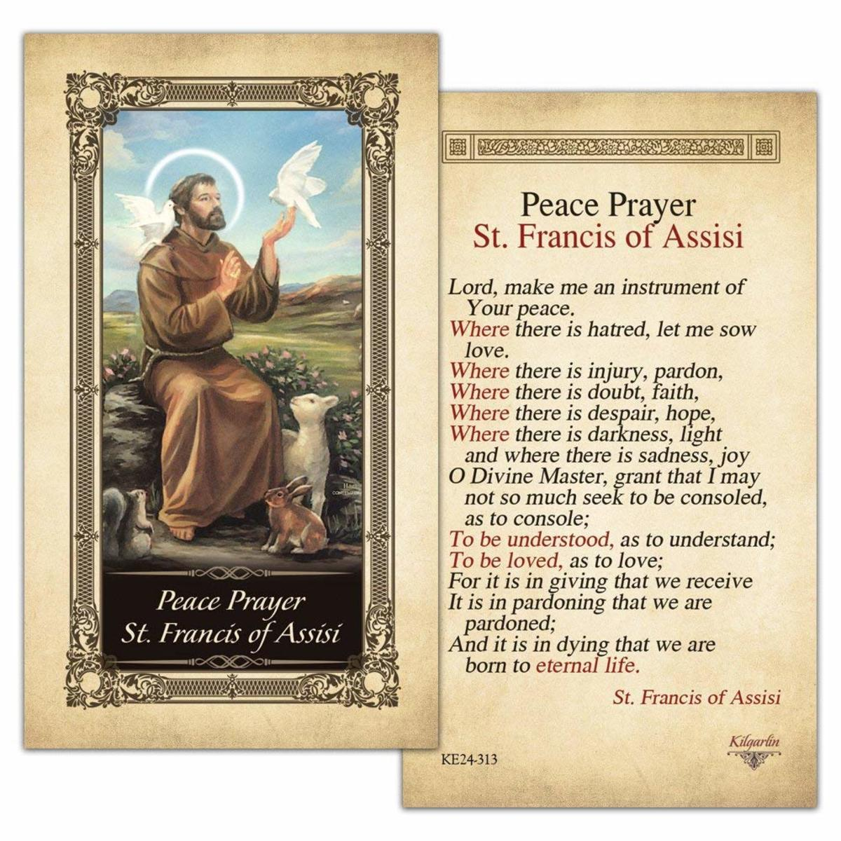 The Significance of the Prayer of Saint Francis