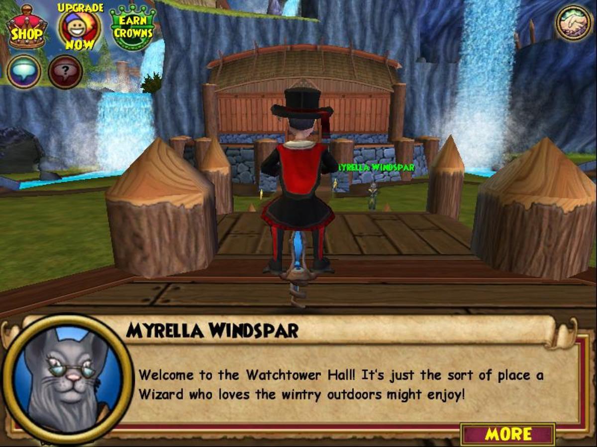 """Wizard101"" Crafting: How to Craft the Watchtower Hall"