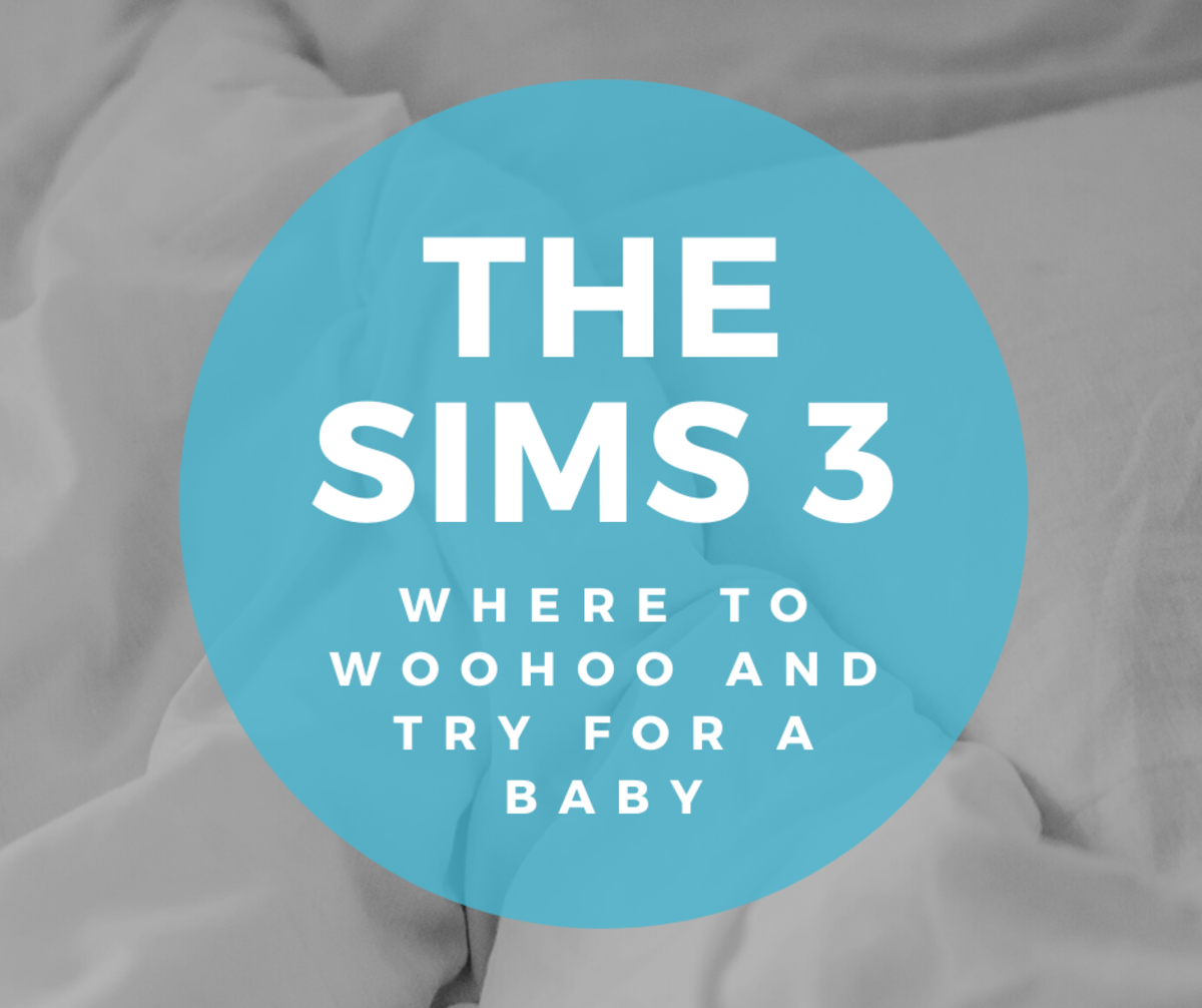 """Where Sims Can Woohoo and Try for Baby in """"The Sims 3"""""""