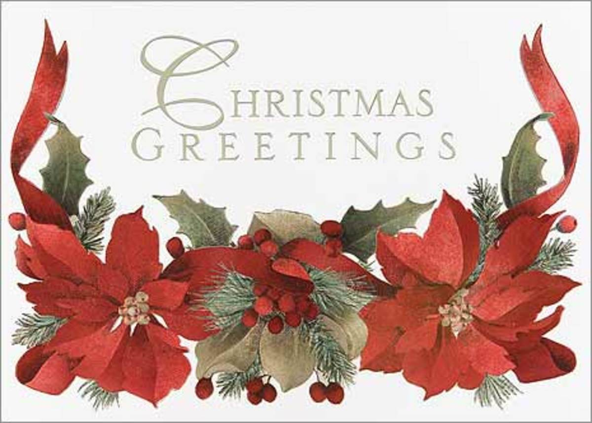 How to Make Beautiful, Personalized, Watercolor Christmas Cards: Part 2
