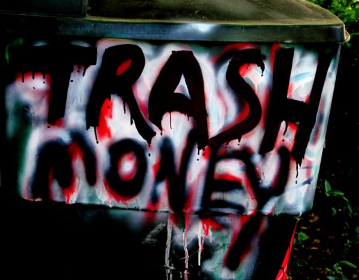 Trash Money: The Art of Collecting Aluminum Cans, Plastic and Glass