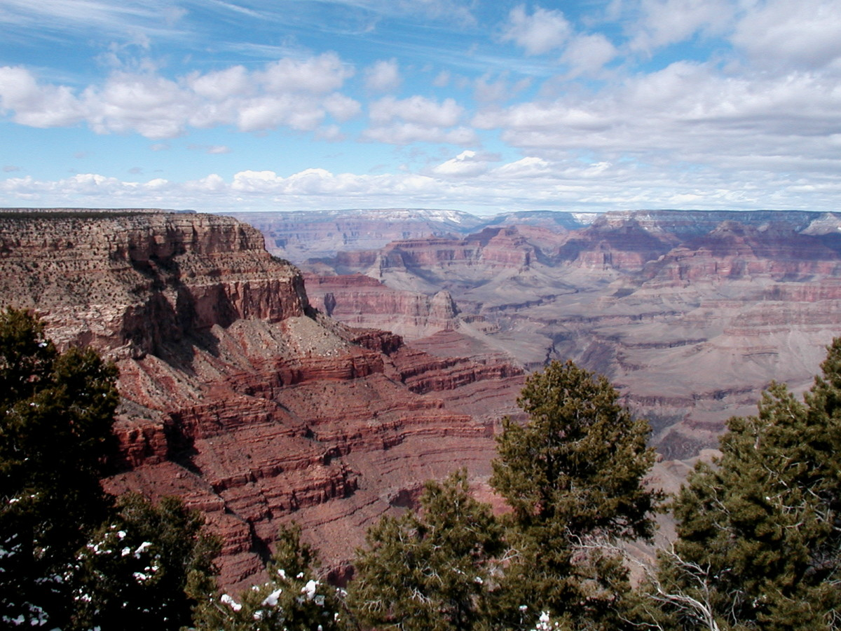View of Grand Canyon from Hermits Rest.