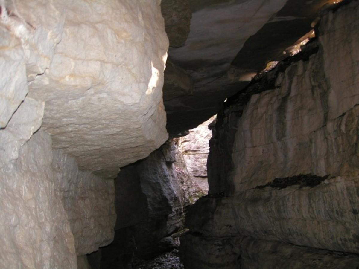 Stone Cuts in Monte Sano State Park