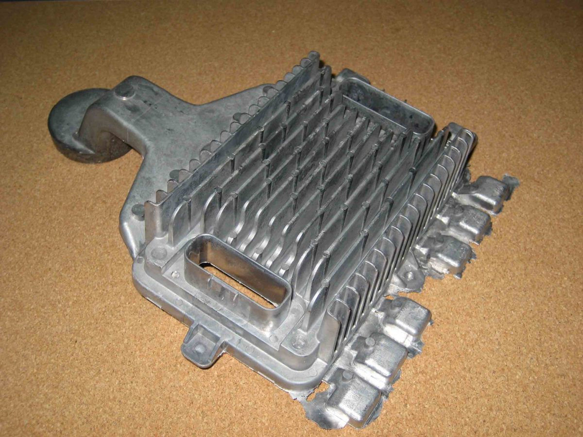 This is a picture of an aluminum heat sink.  It's not a radiator, but is similar.  Depending on the severity of your leak, radiator stop leak will fix most mild leaks inside your radiator.