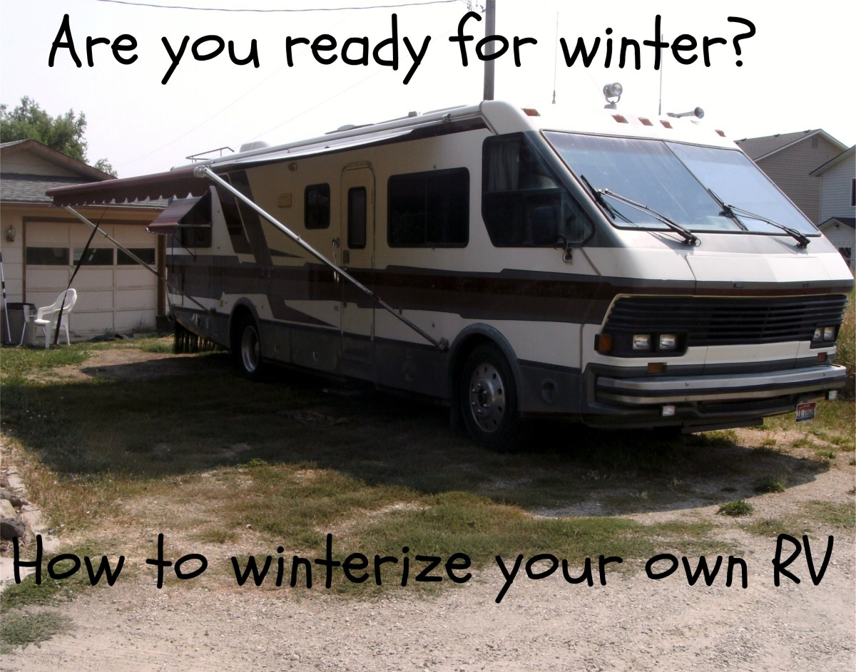 Winterizing your RV is quite possible, you just have to make sure you get it ALL.