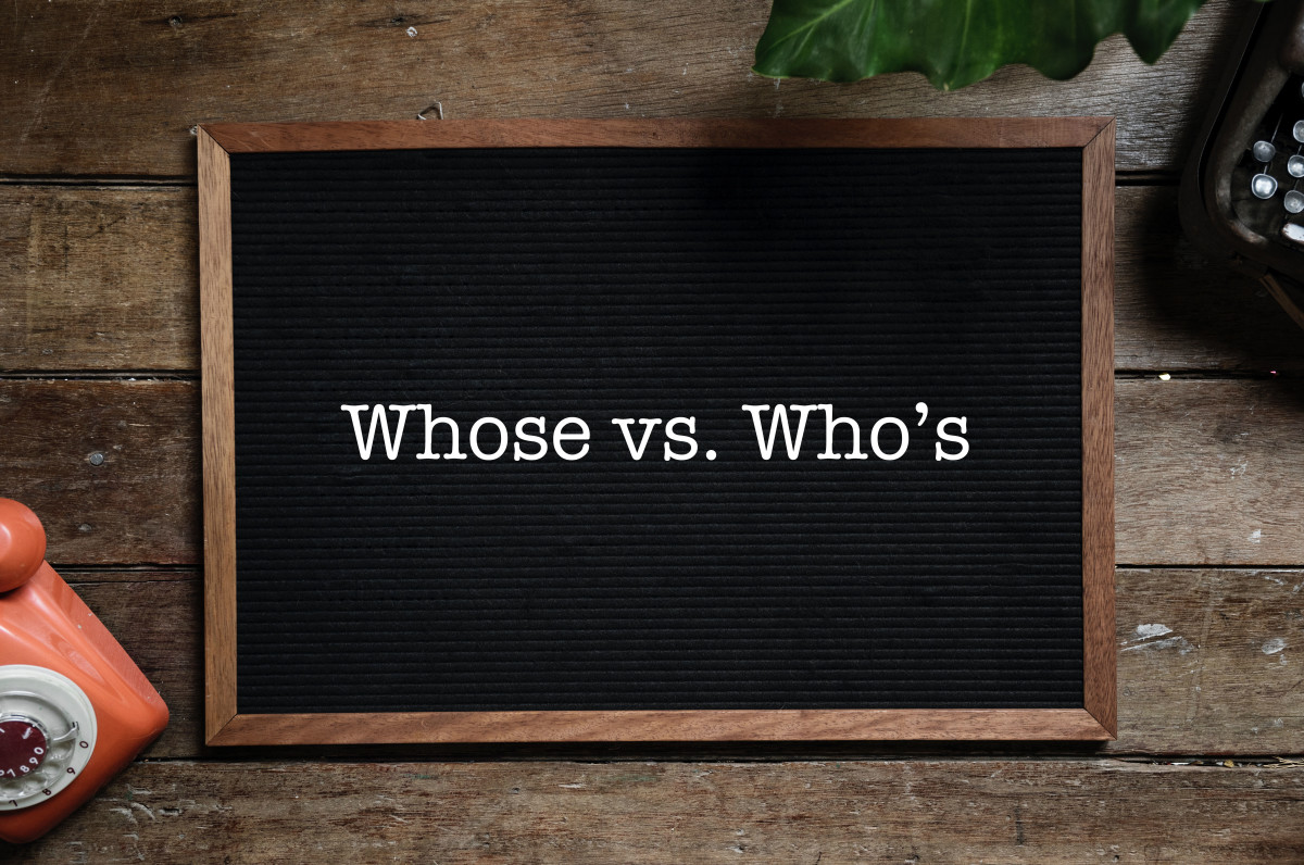 Whose vs. Who's: Common Grammar Mistake