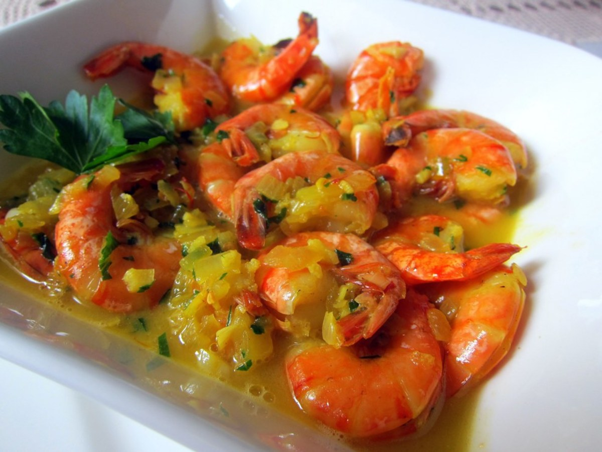 Camarão (Shrimp) Mozambique: An Easy Recipe for Seafood Lovers!