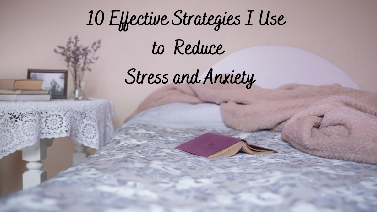 Reducing my stress and anxiety has become a priority in my life.