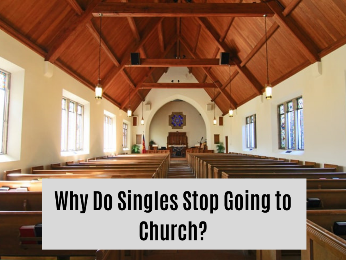 It can be hard to show up at church when you're single.