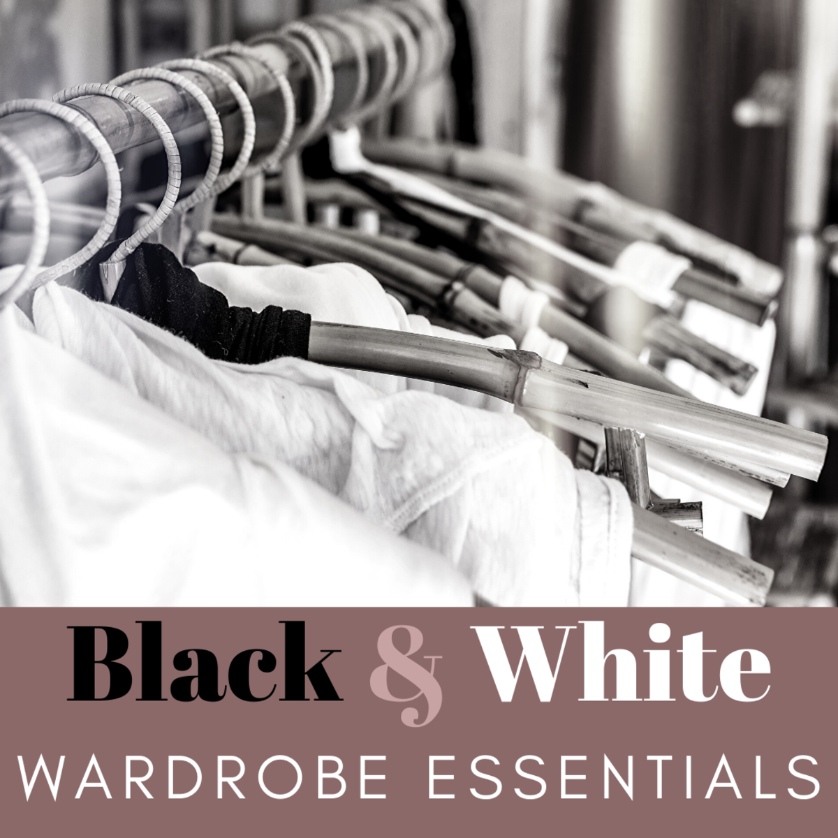 How to Build a Stylish Black-and-White Wardrobe