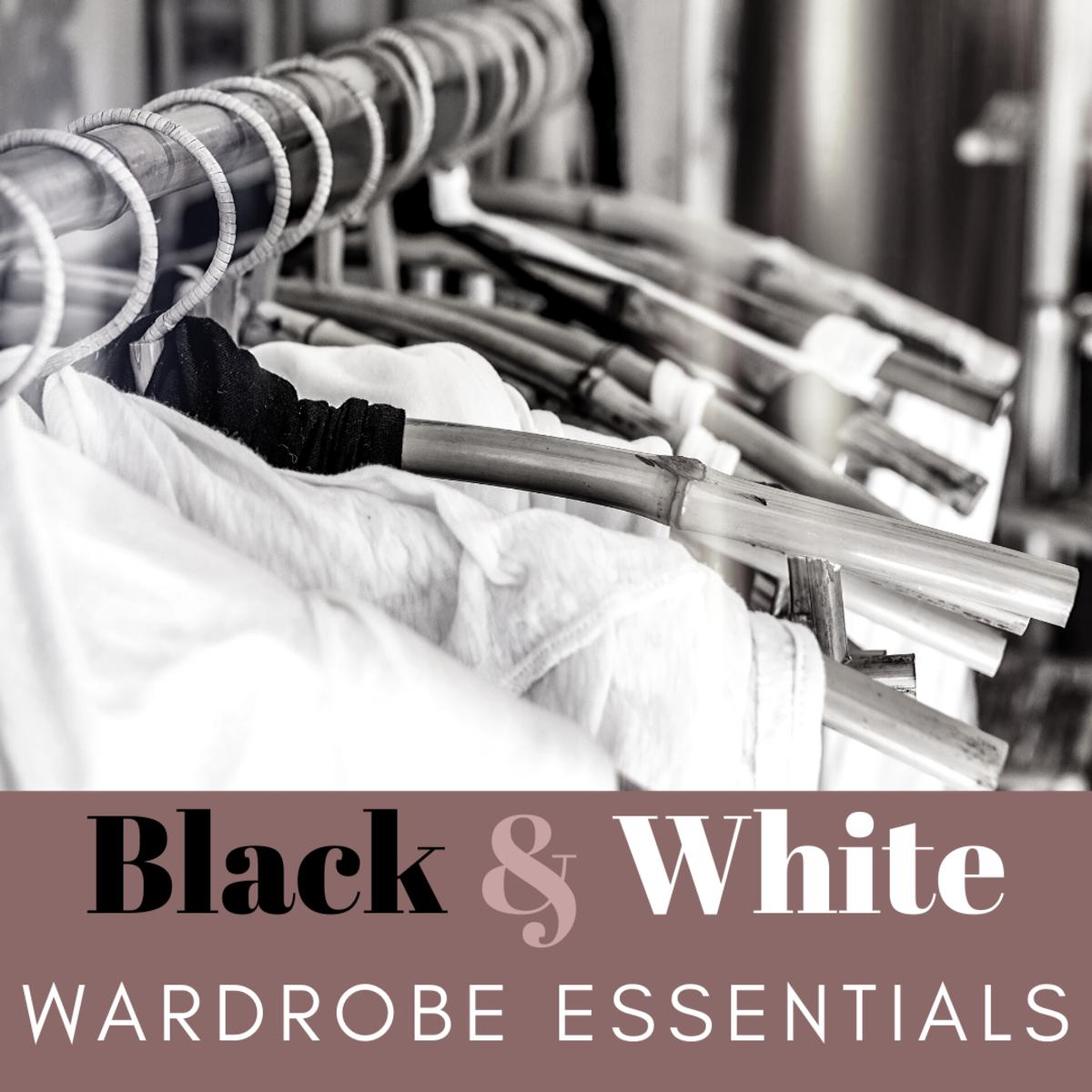 Black and White Wardrobe Essentials