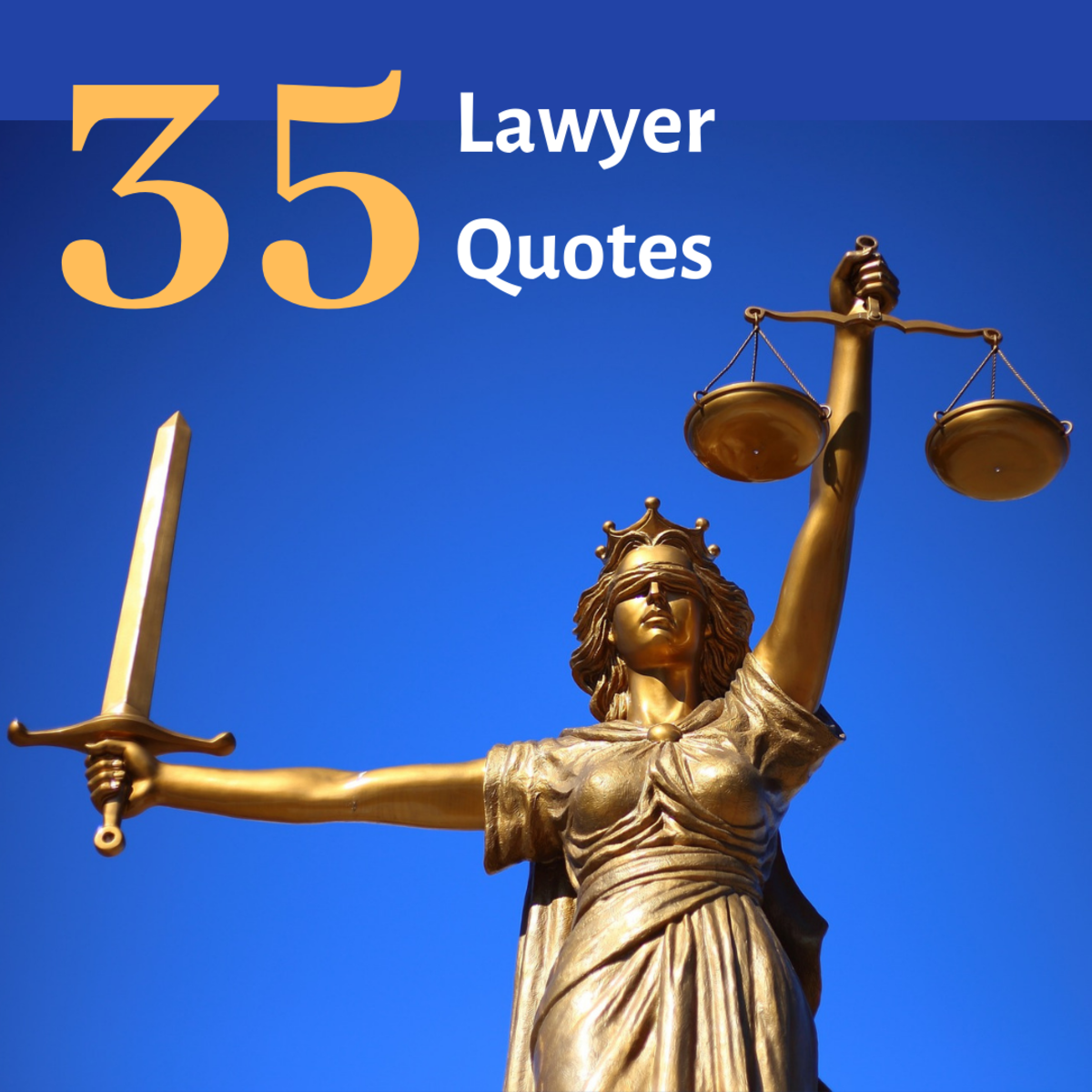 Read some quotes related to law and lawyers, along with messages of gratitude for an attorney.