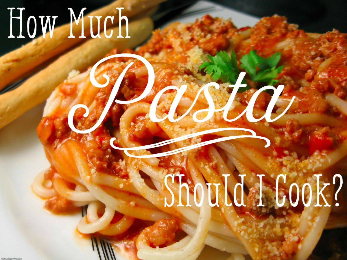 What's the Right Amount of Pasta Per Person?