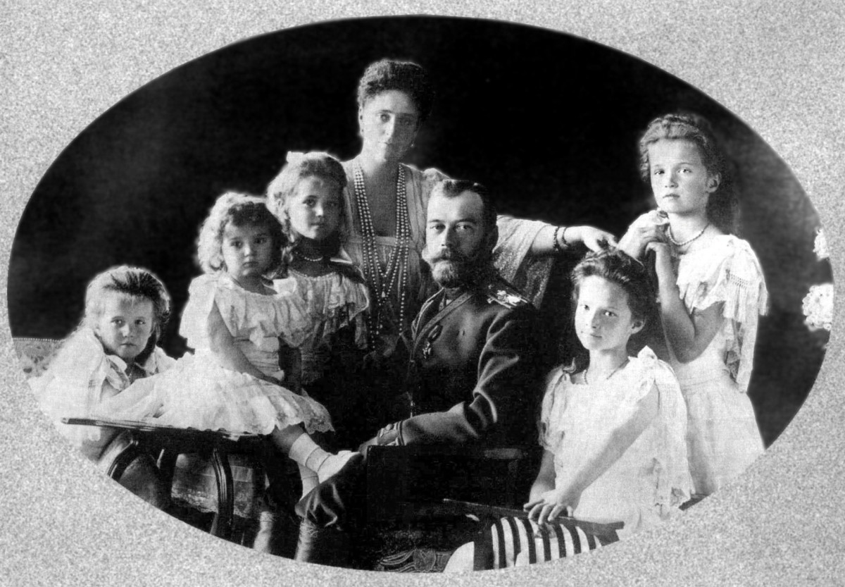 Taken in 1906, this is the family of Anastasia.