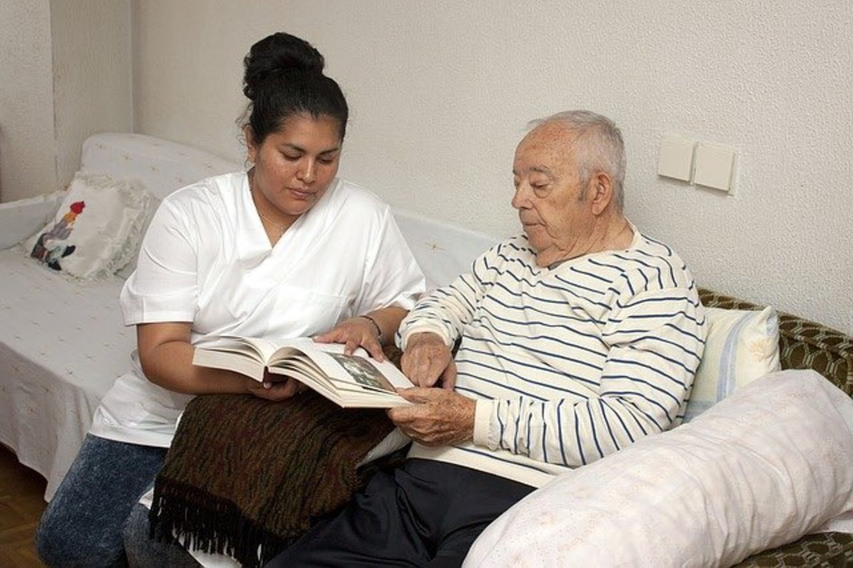In-home eldercare aide