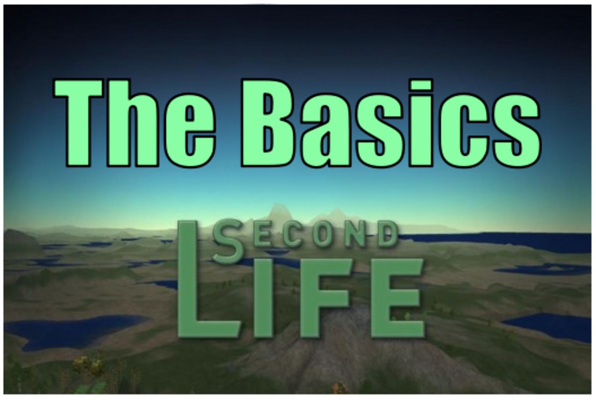 """Learn about the fundamental controls you need to know to get started in """"Second Life."""""""
