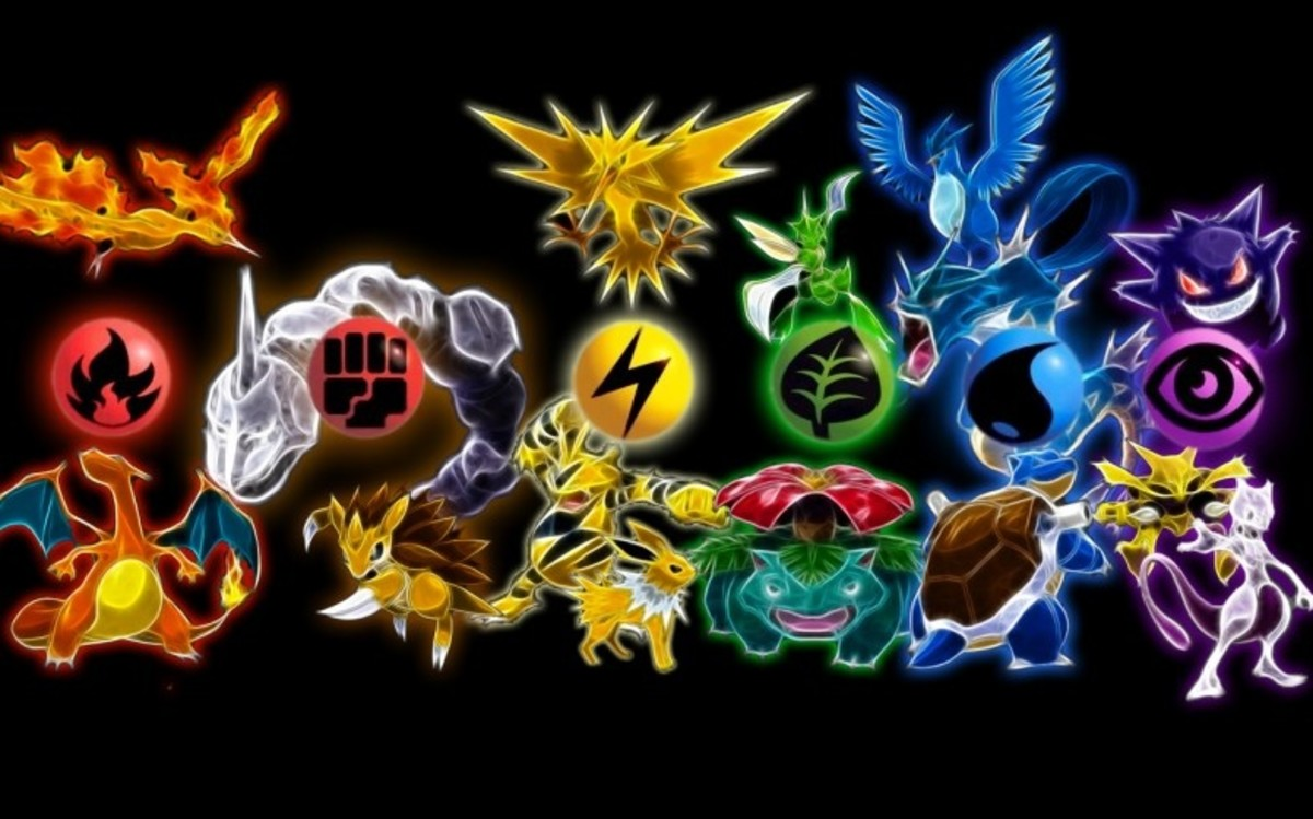 Generation 1 Pokemon