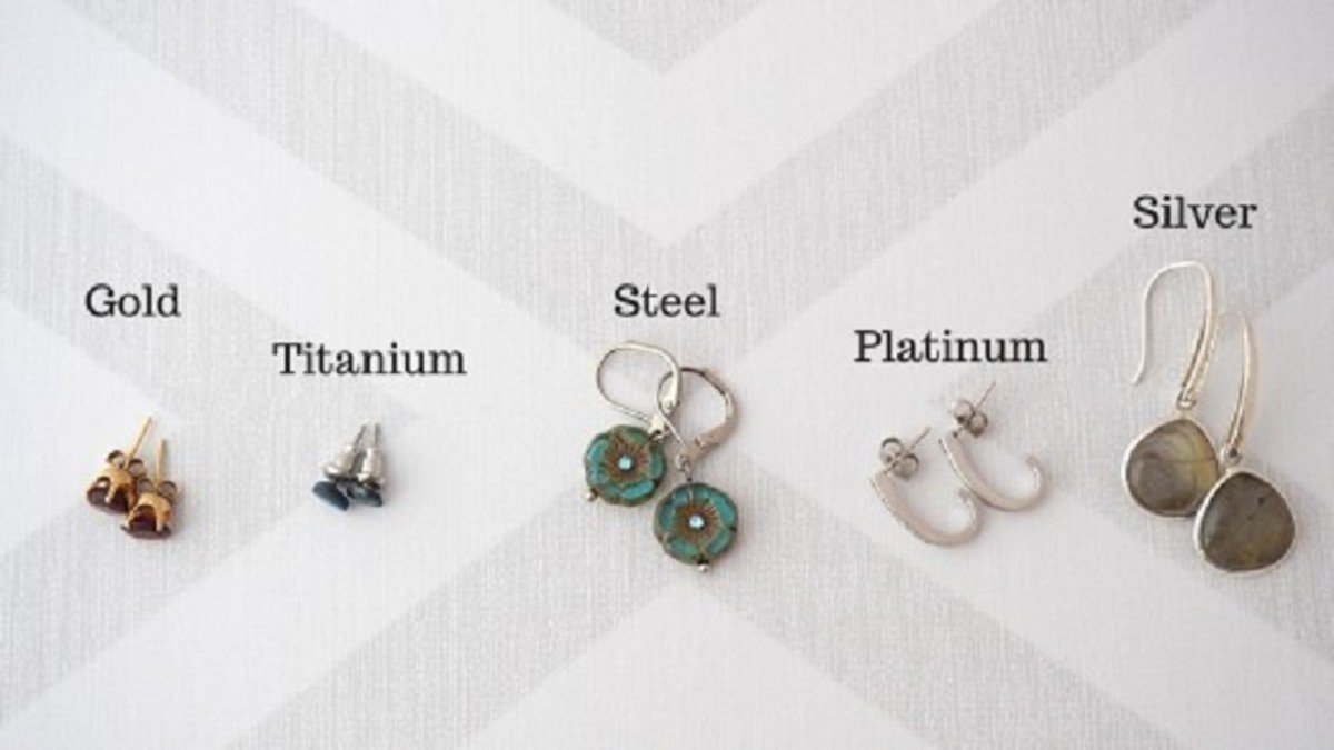 Before  buying earrings check what material the posts are made from.