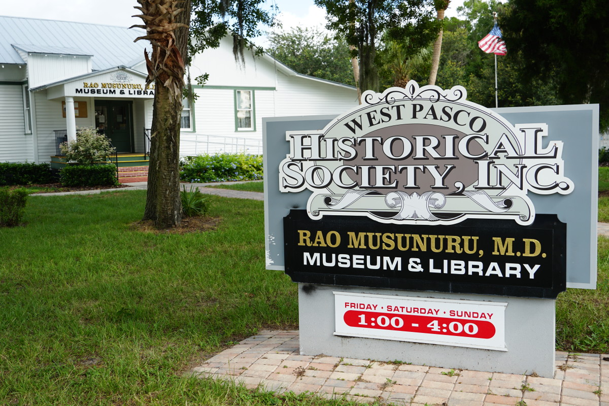 The West Pasco Historical Society and Museum, New Port Richey, Florida