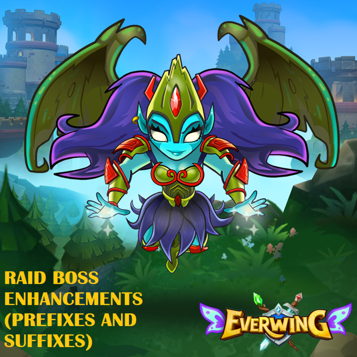 EverWing: Raid Boss Enhancements (Prefixes and Suffixes)