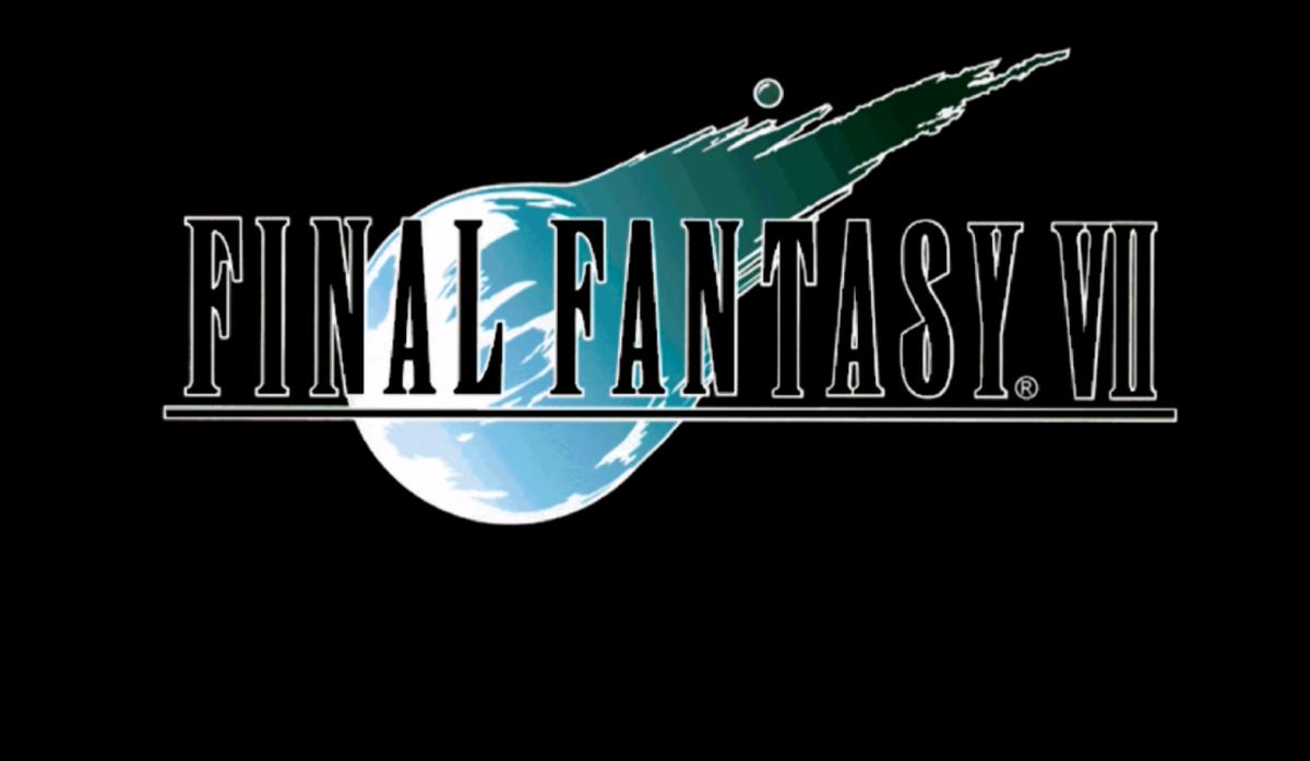 "The logo for ""Final Fantasy VII."""
