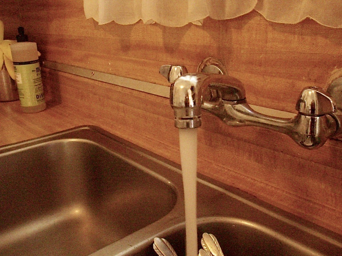 Install Water-Efficient Faucets & Showerheads