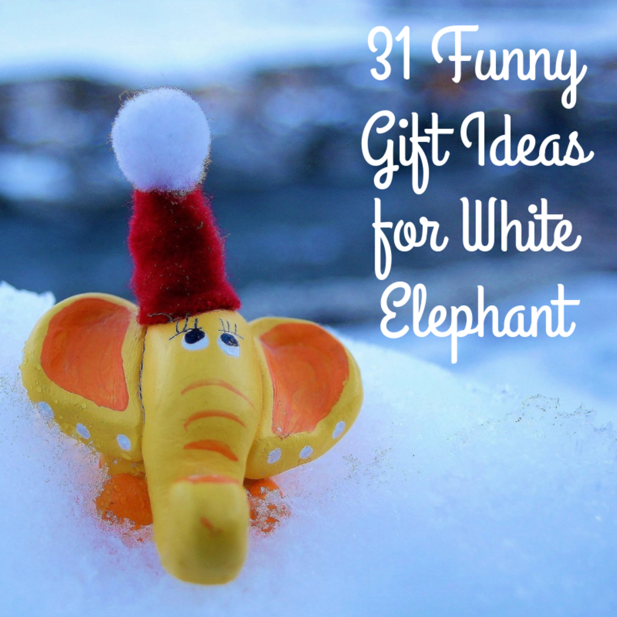 Here are 31 different fun and silly ideas for you to bring to your next white elephant gift exchange party.