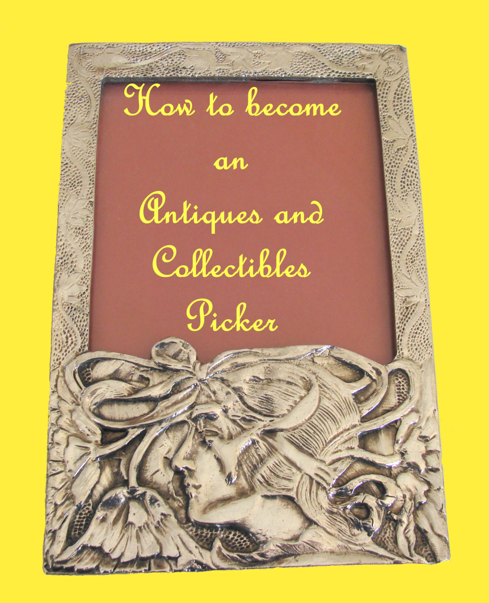 How to become an antiques and collectibles picker.